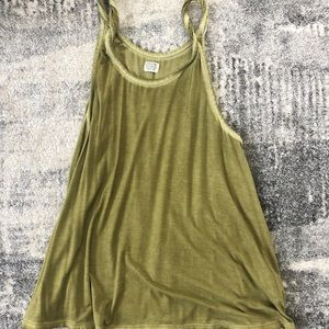 Volcom twisted strapped flowy tank top